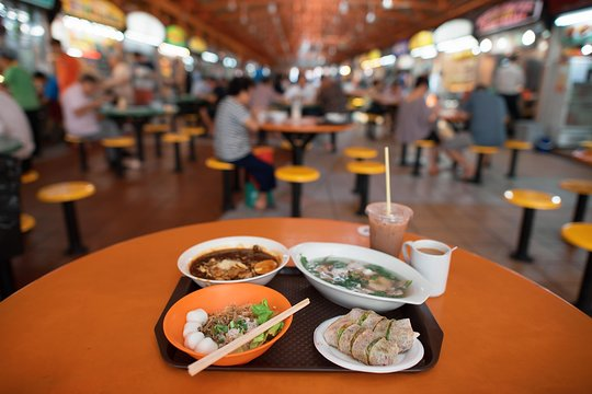 Singapore day food tour